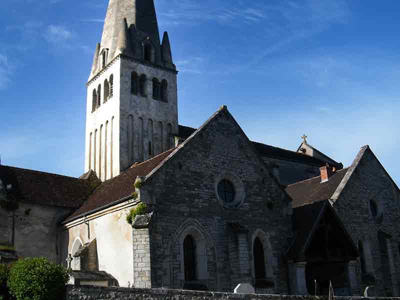 Eglise St Germain d'Auxerre à Bligny sur Ouche