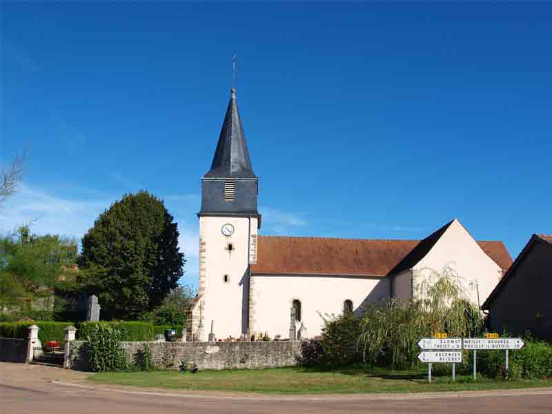Eglise à Essey