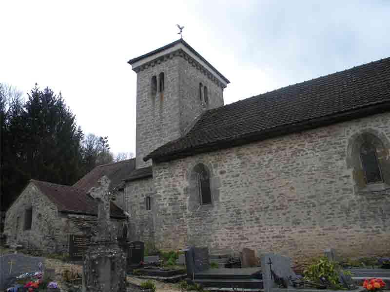 Eglise à Martrois