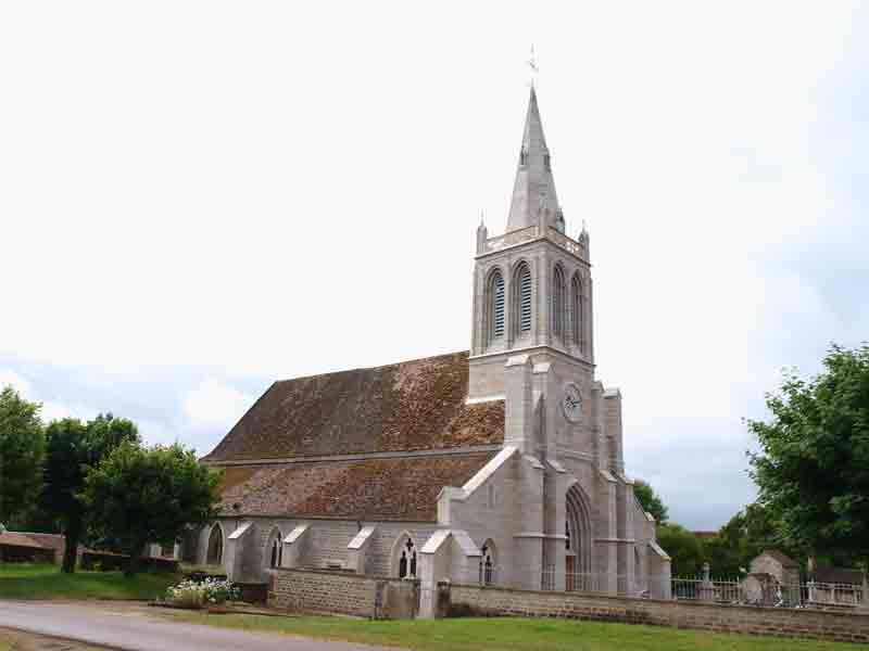Eglise à Meilly sur Rouvres