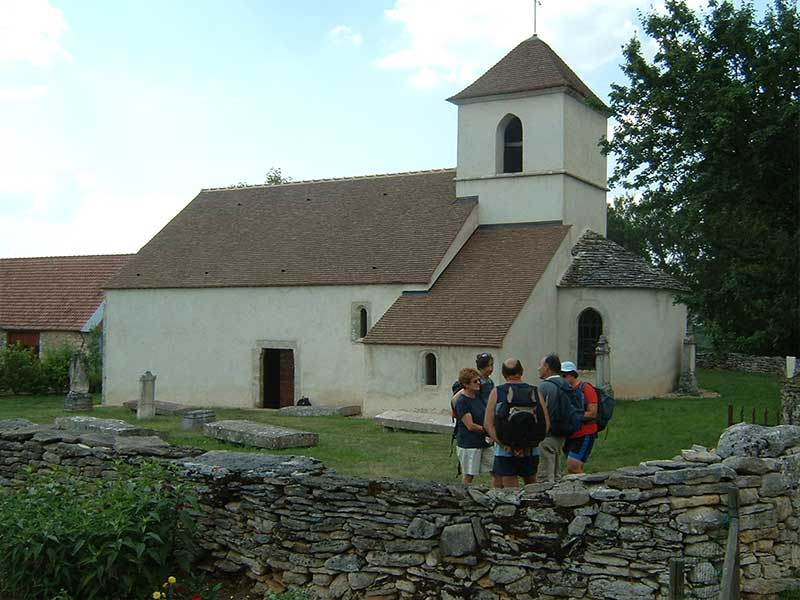 Chapelle des Templiers à Echarnant