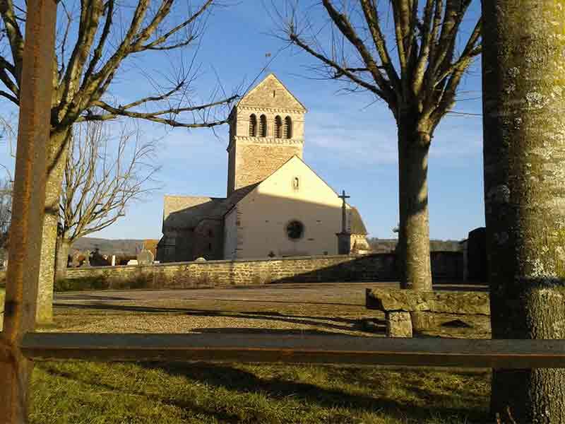 Eglise à Vic des Prés