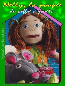 Spectacle de noël nelly la poupée du coffre à jouets