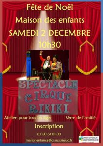 affiche spectacle de cirque