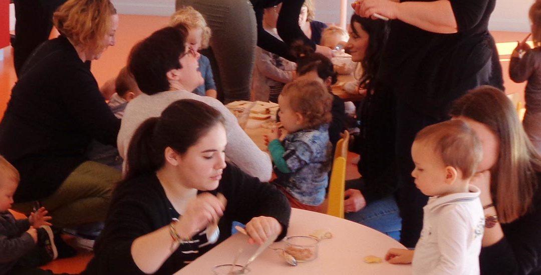 Découverte sensorielle et culinaire au Relais petite enfance