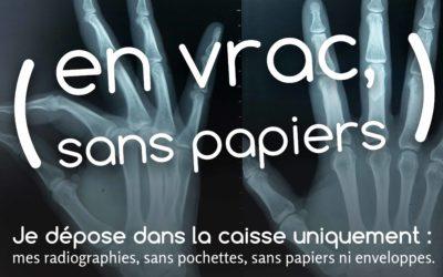 NOUVEAU! Collecte des radiographies
