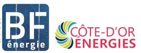 Logos BF énergie et SEM Côte d'Or Energies