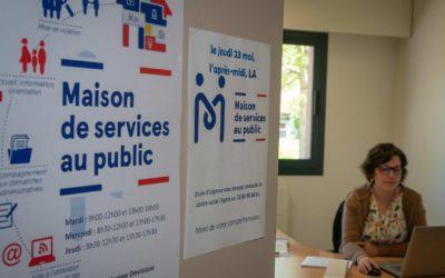 Les Maisons de Services au Public restent ouvertes