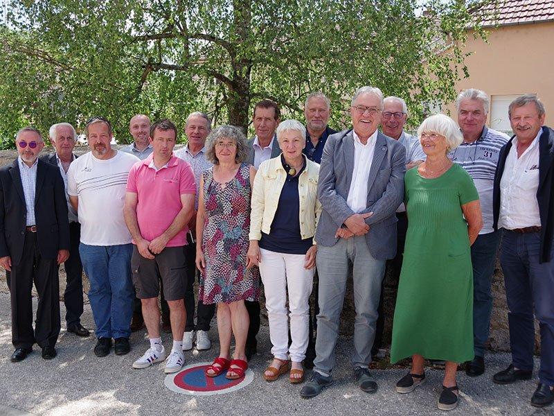 Les membres du Bureau de la Communauté de communes