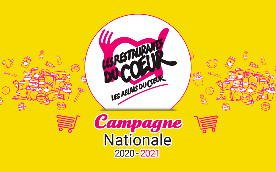 Campagne 2020-2021 des Restos du Coeur à Bligny