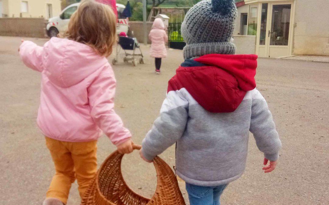 Promenade bébé rando à Bligny sur Ouche