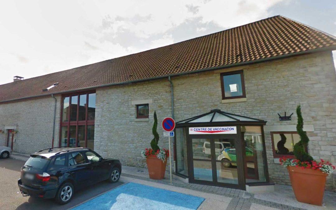 Salle vaccination covid à Pouilly en Auxois