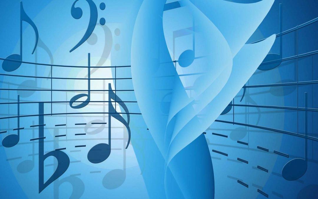 Illustration notes de musique
