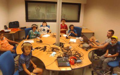 Ateliers radio cet été à l'accueil de loisirs